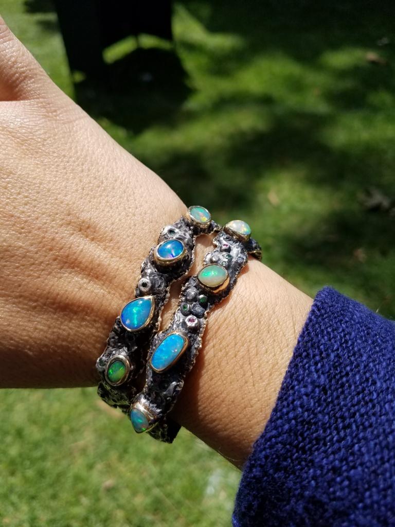 Opal Cuffs